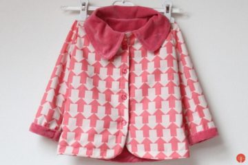 Kids reversible coat