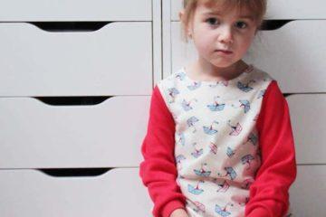 Sailor pyjamas for my little girl