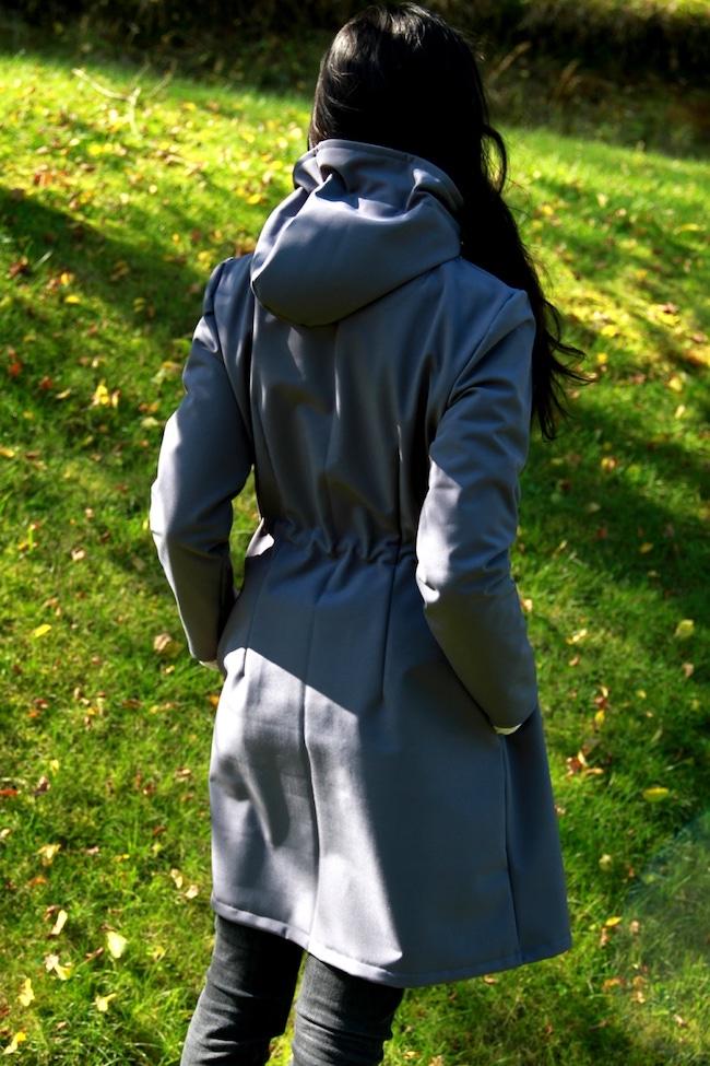 Women's coat pattern
