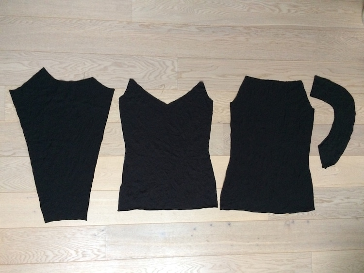 How to sew a hoodie with raglan sleeves and collar