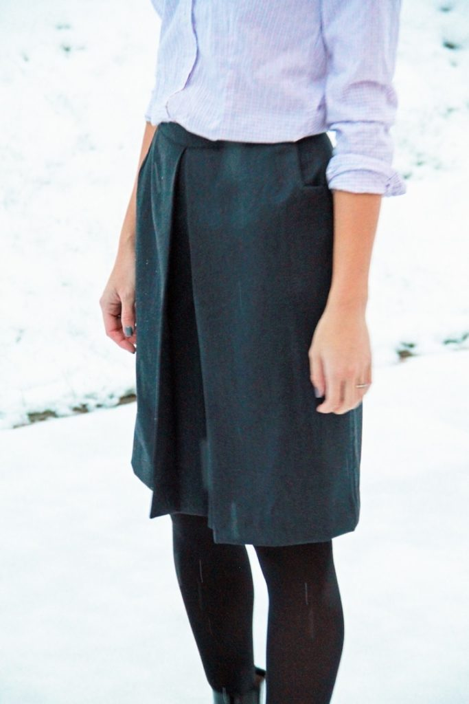 Ladies culottes sewing pattern