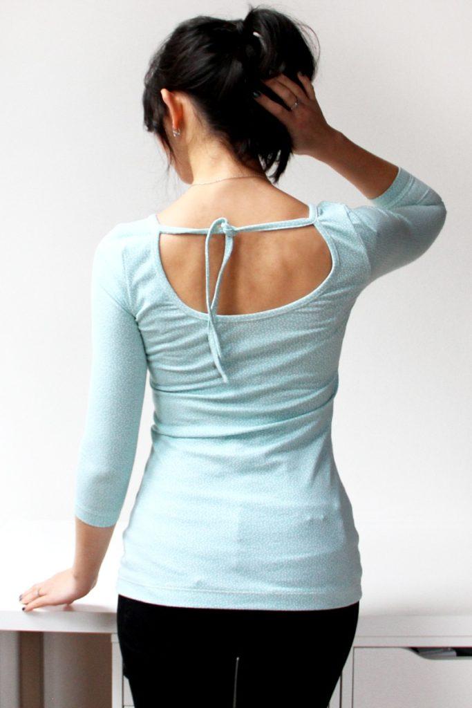 Sewing pattern - womens t-shirt