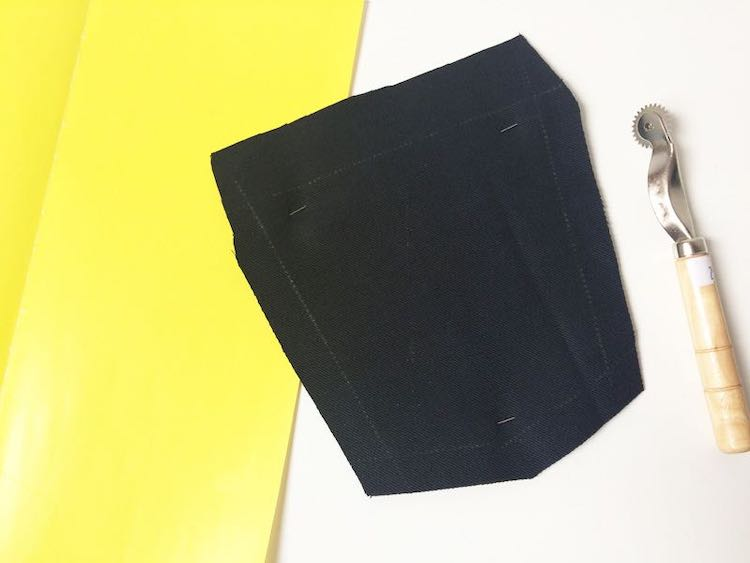 How to transfer sewing patterns to fabric (tracing wheel, soap, chalk, thread)